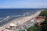 Kołobrzeg, plaża